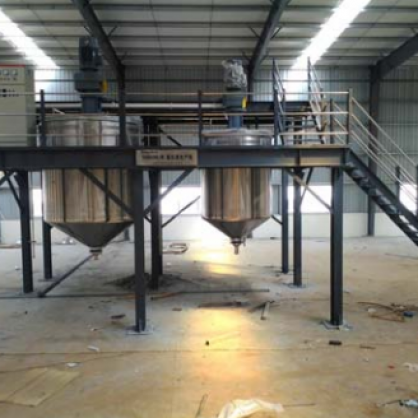 12000L paint mixing equipment