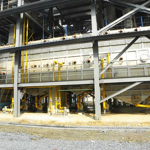 Classification leaching process equipment