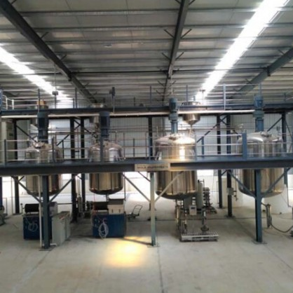 Full set of 12000L paint mixing project