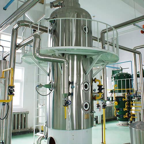 Oil leaching process