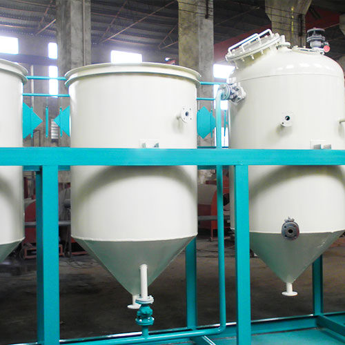 Chemical refining equipment