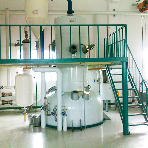Rice bran oil deodorization process